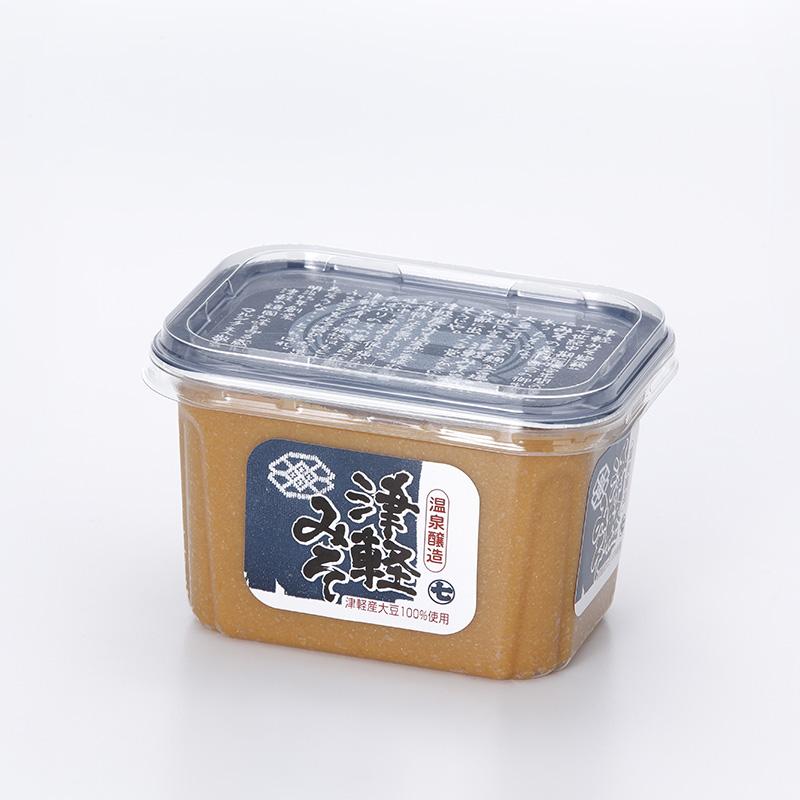 マルシチ 津軽味噌(津軽産大豆使用)白味噌