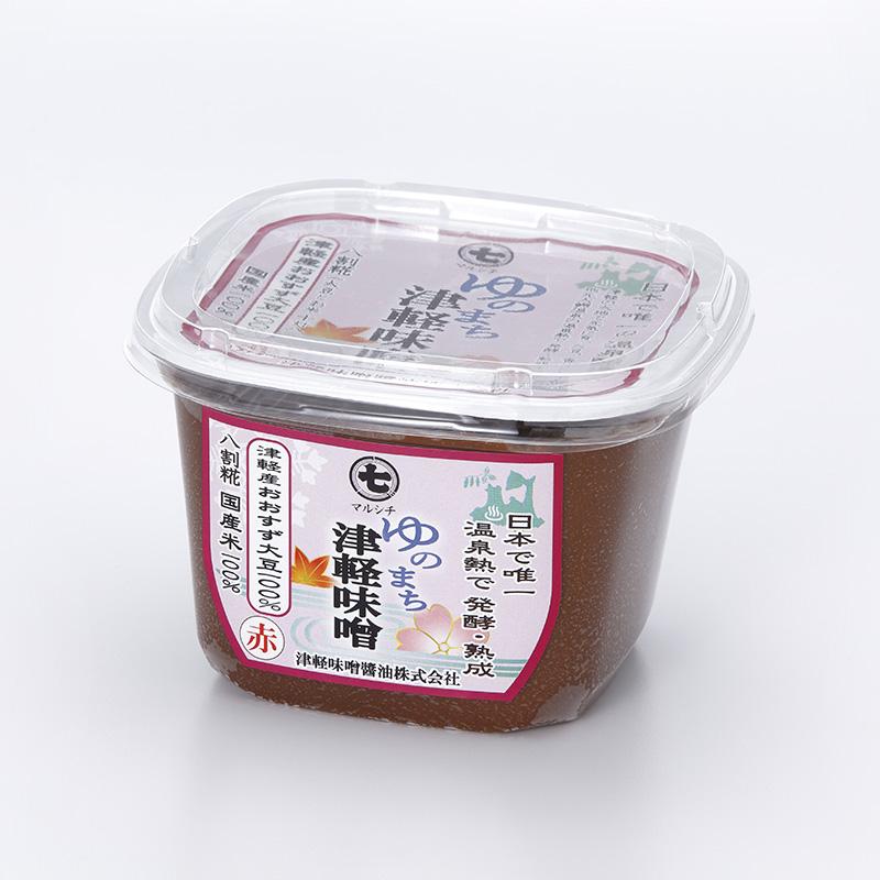 マルシチ ゆのまち津軽味噌赤味噌