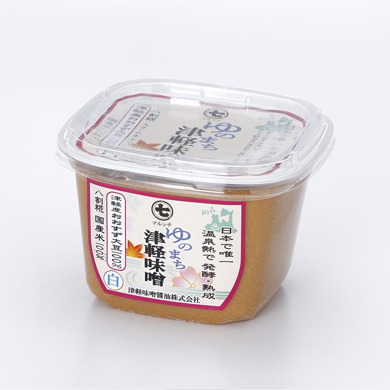 マルシチ ゆのまち津軽味噌白味噌