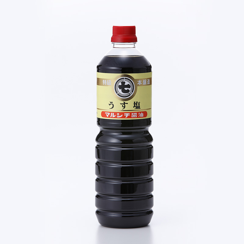 マルシチ 本醸造 うす塩醤油